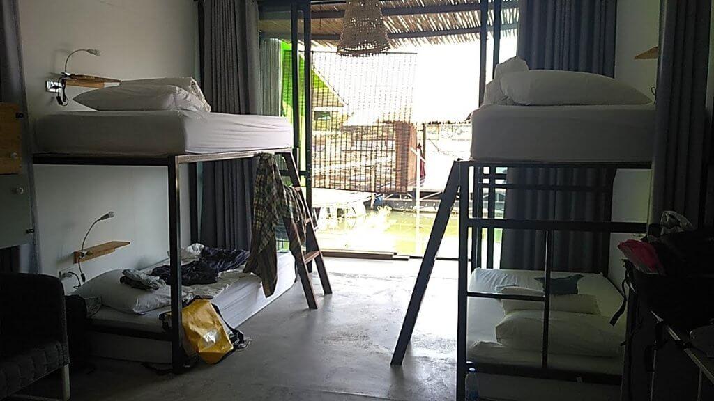 Nice hostel in Thailand