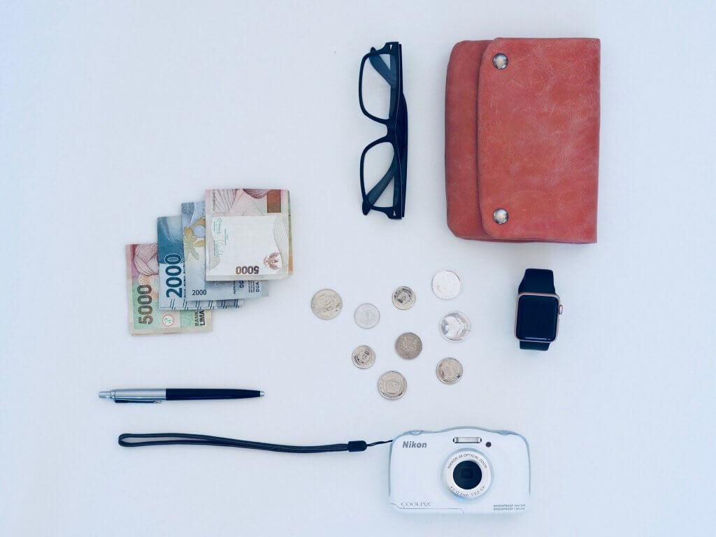 Money bag for travelling
