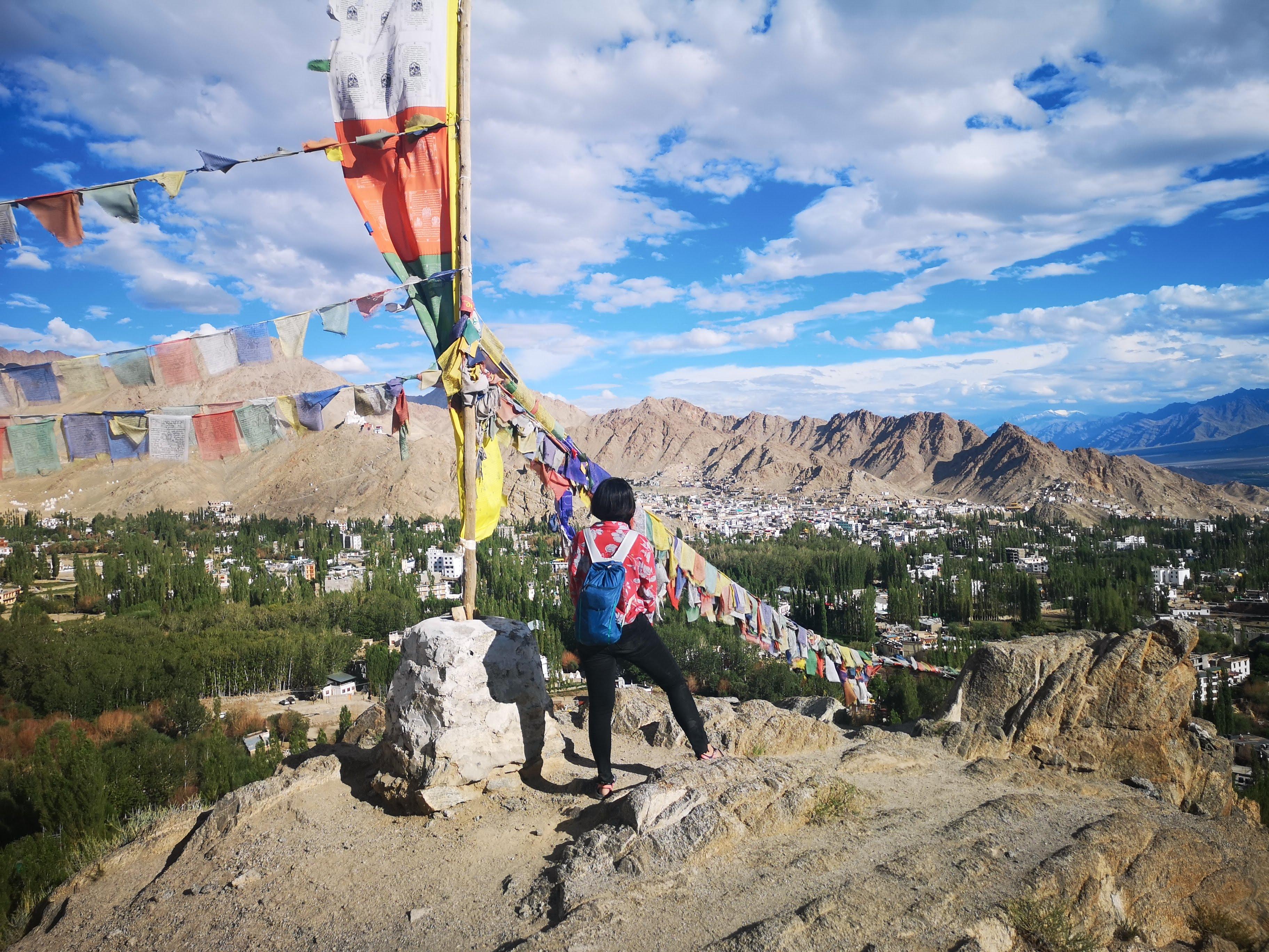 【2019印度自助】列城市區一日遊:列城王宮+香提佛寺