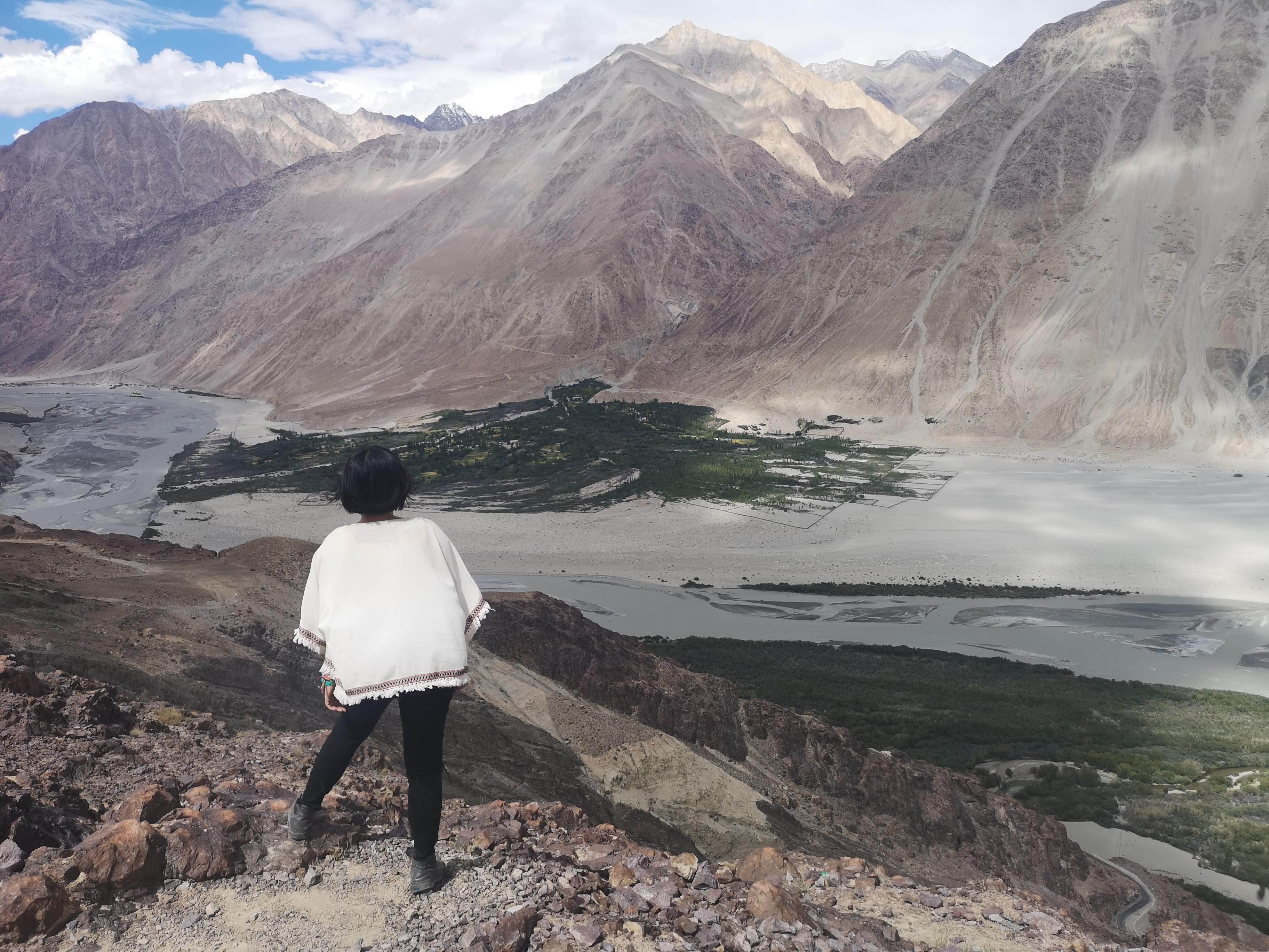 【2019印度自助】如夢似幻的Nubra 河谷包車行